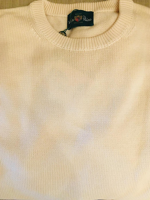 Alan Paine Sternfield Cotton Crewneck Sweater