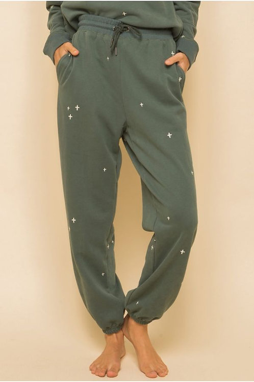 Embroidered Sweatpants