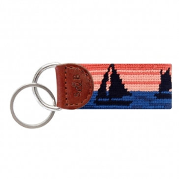 Smathers & Branson Sunset Sailing Key Fob