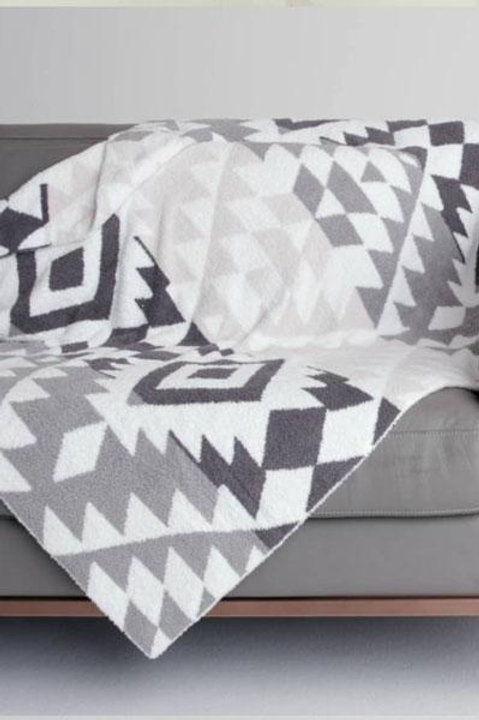 Grey Barefoot Dreams Blanket