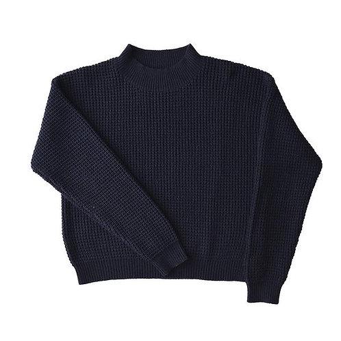 Navy Rye SeaThread Sweater