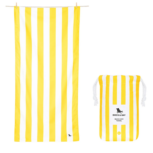 Quick Drying Towel- Yellow