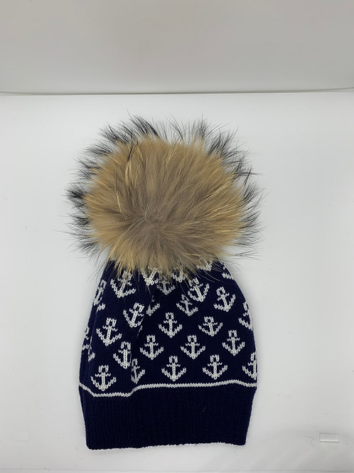 Anchor Knit Hat