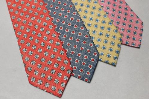 J. Alden Signature Linen Medallions Neckties