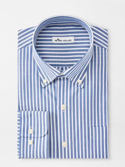 """Peter Millar Crown Ease Warren Sportshirt -Color """"Sailor"""""""