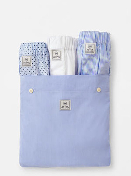 Peter Millar Dempsey Three Pack of Cotton Boxers