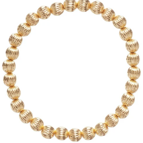 enewton- Dignity Gold Bead Bracelet 6mm