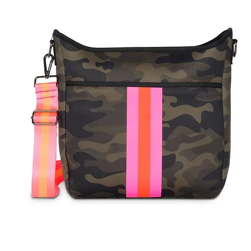 Camo Neoprene Crossbody Bag