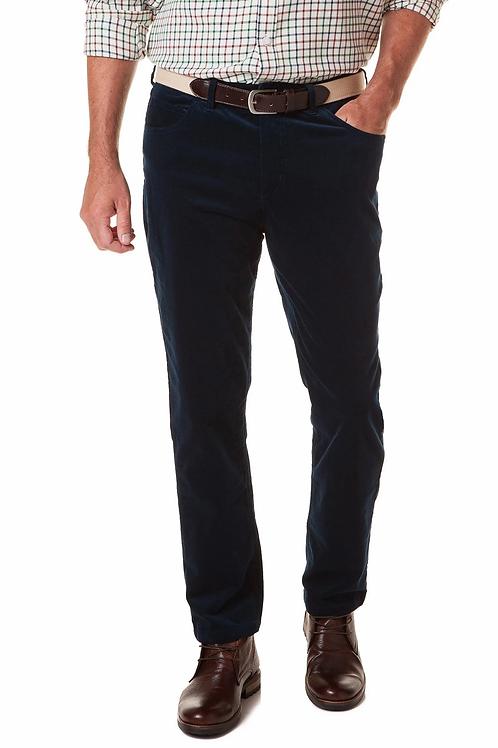 Castaway Wayfarer 5-Pocket Stretch Corduroy Pant-Charcoal