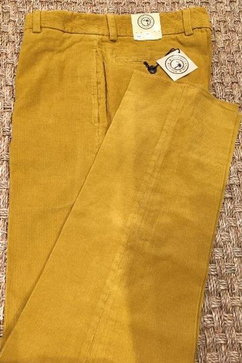 "Charleston Khakis ""Goldenrod"" Pinwale Corduroy Pants"