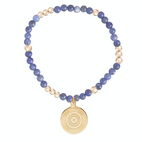enewton- Worthy Pattern 4mm Bead Athena Charm Bracelet