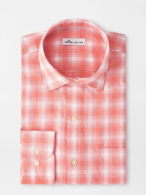 Peter Millar Seaside Lovells Island  Cotton Sport Shirt