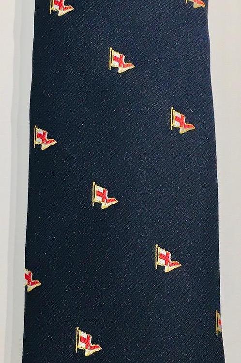 J. Alden Signature Woven Silk Burgee Necktie