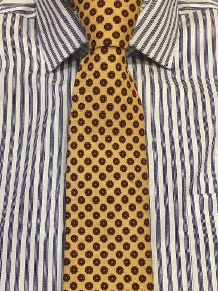 Robert Keyte Wool/Silk Challis Neckties