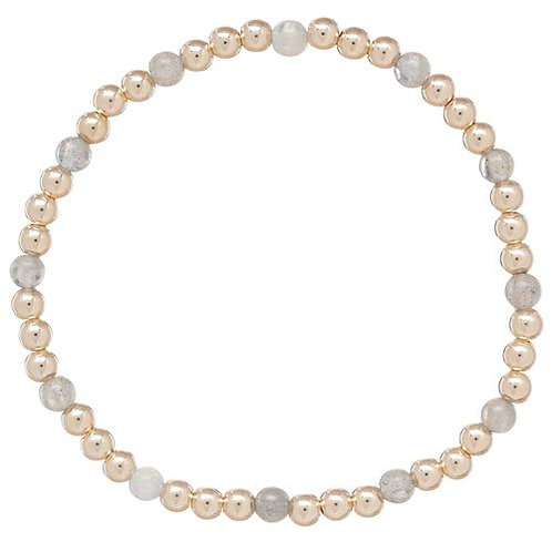 enewton- Gold Sincerity 4mm Bead Bracelet