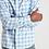 Thumbnail: Faherty Brand Heathered Movement Shirt in Marina Plaid