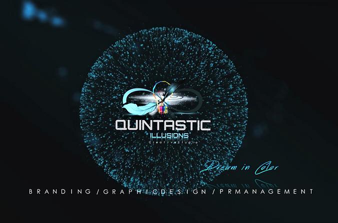 Quintastic illusions logo