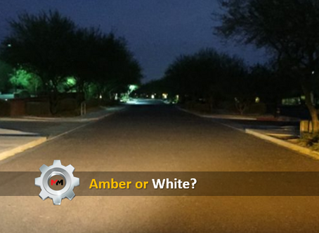 IS AN AMBER OR WHITE LIGHT BETTER?