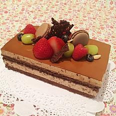 Caffe Mocha Mousse Cake
