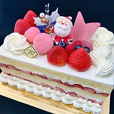 Strawberry cake Christmas decoration
