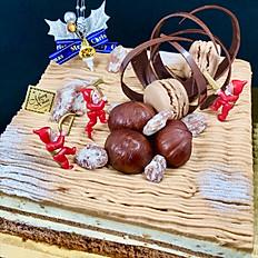 Chestnuts and Hazelnuts cake