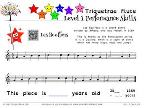 Level 1 Piano Performance: Les Bouffons