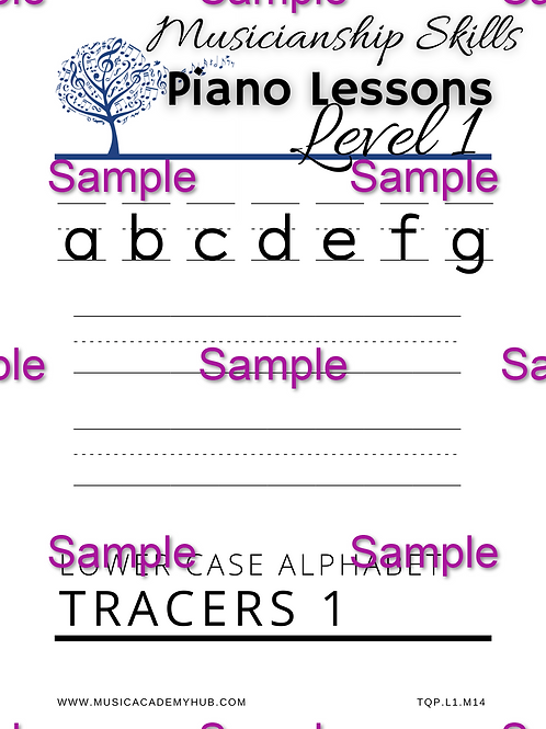 Lower Case Alphabet 1