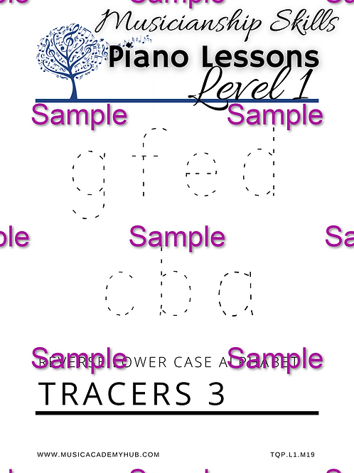 Reverse Lower Case Alphabet 3