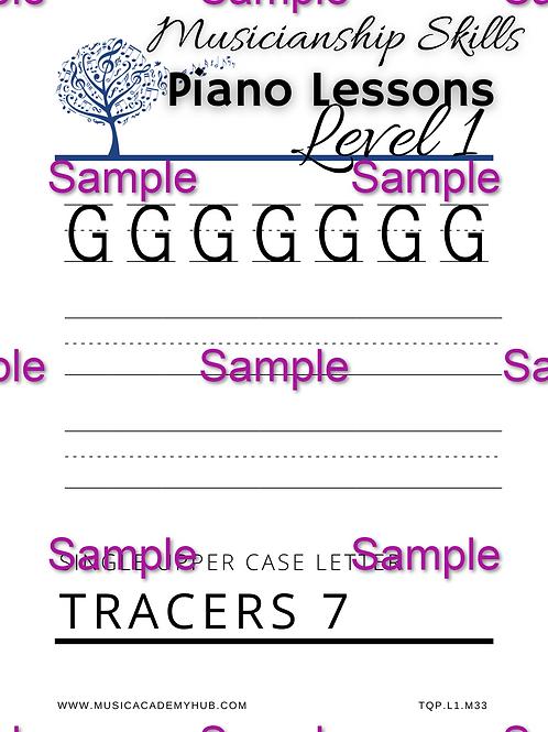 Upper Case 'G' Tracer
