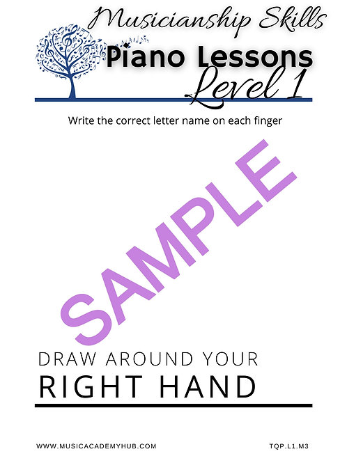 Draw Around Your Right Hand
