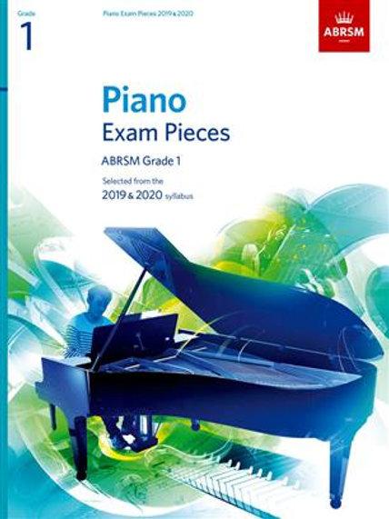 Piano Exam Pieces 2019 and 2020 - Grade 1