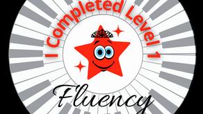Piano 'Level 1 Star' Sticker Challenge