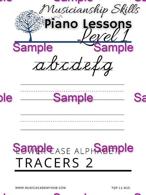 Lower Case Alphabet 2