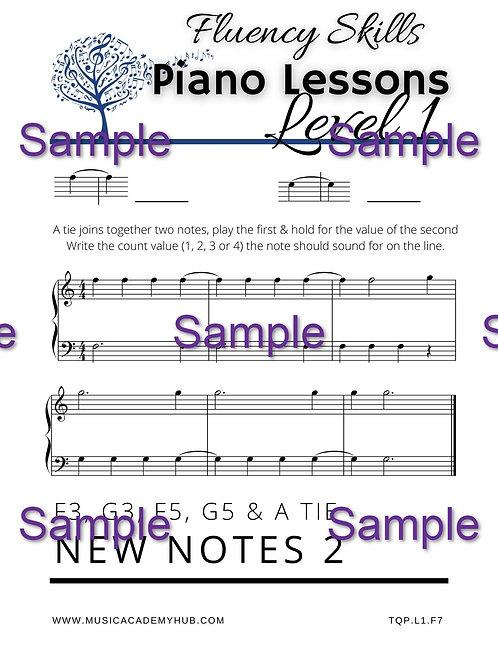 New Notes 2: F3, G3, F5, G5