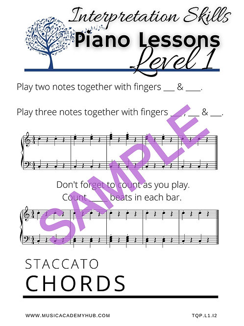 Staccato Chords