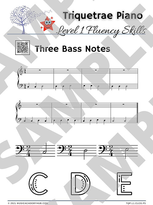 Three Bass Notes