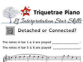 Junior Piano Interpretation: Detached or Connected?