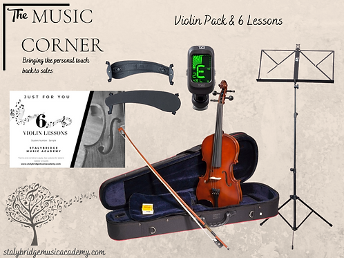 Violin Pack & 6 Lessons