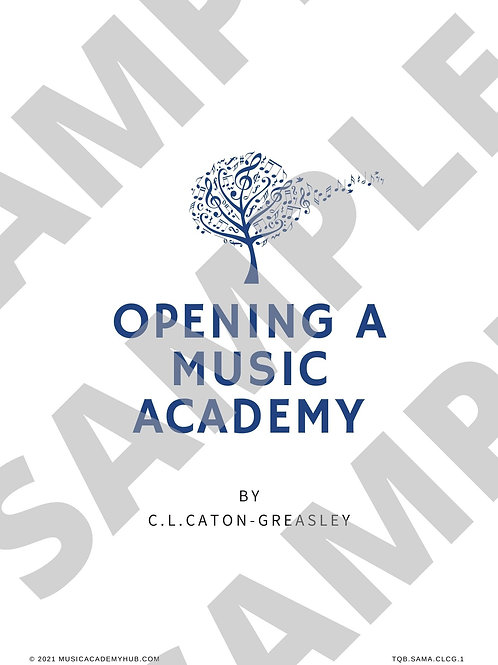Opening a Music Academy Episode 1