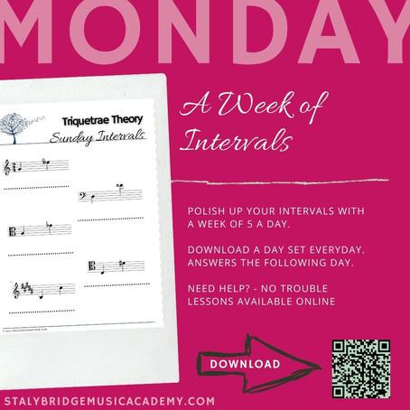Week of Intervals: Monday