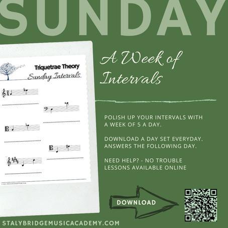 A Week of Intervals: Sunday