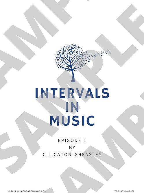 Intervals in Music. Episode 1