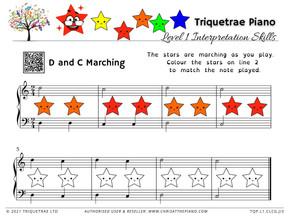 Junior Interpretation: D and C Marching