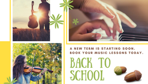 Back to School is almost here, where did the summer go?
