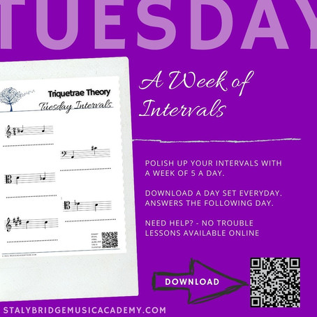 Week of Intervals: Tuesday