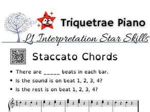 Junior Piano Interpretation: Staccato Chords