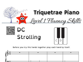 Fluency Level 1 Piano: D and C Strolling