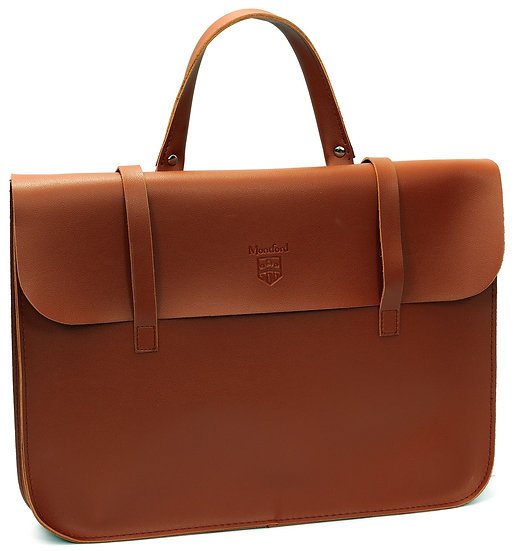 Tan Montford faux-leather Music Case