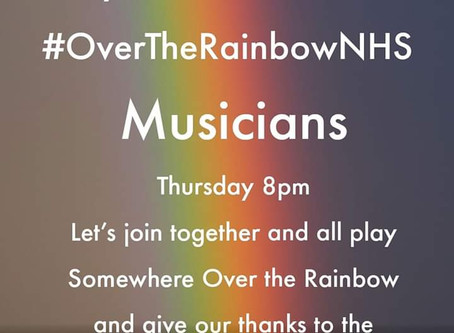 Over the Rainbow for our NHS