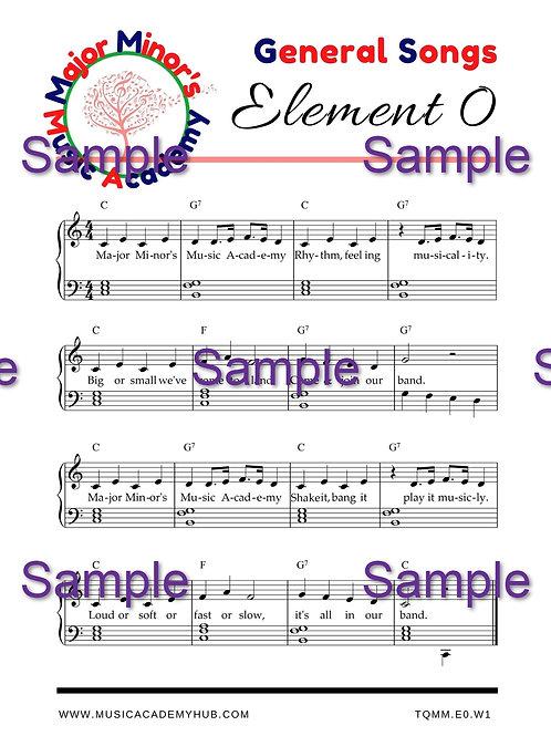 Major Minor's Music Academy Song
